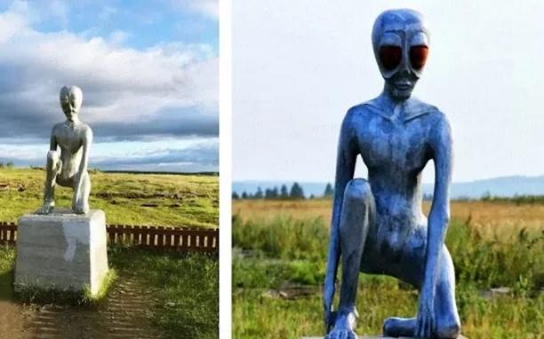 Monumen unik, monumen alien di Rusia (Daftarpopuler)