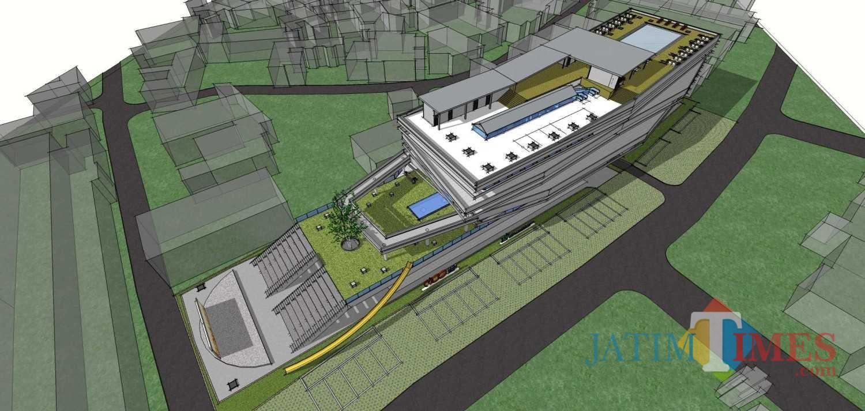 Tawaran desain Malang Creative Center (MCC) oleh Duatitik Architecture. (Foto: arsitag.com)