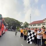 Mudik Gratis, 965 Pemudik Diberangkatkan Wali Kota Malang