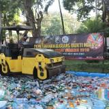 Selama Ramadan, Peredaran 2.200 Botol Miras Berhasil Digagalkan Polres Malang