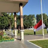 Bupati Situbondo pimpin upacara bendera peringatan hari lahir Pancasila (Foto :Heru Hartanto/ SitubondoTIMES)