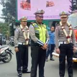 Pos Pengamanan dan Pelayanan Polres Malang Kota Tiba-Tiba Disidak Ditlantas Polda Jatim