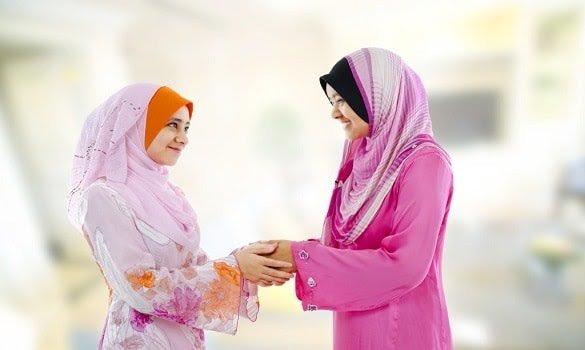 Dua perempuan yang saling memaafkan. (Foto: istimewa)