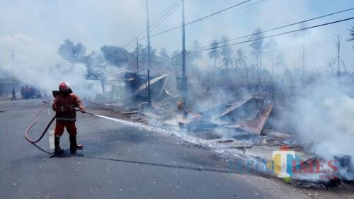 Ilustrasi Kebakaran (Foto : Dokumen MalangTIMES)
