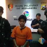 Tahanan yang kabur dari Mapolresta Pasuruan.