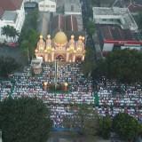 Diikuti Puluhan Ribu Jamaah, Salat Idul Fitri di PT ACA Jadi Berkah untuk Semua Kalangan