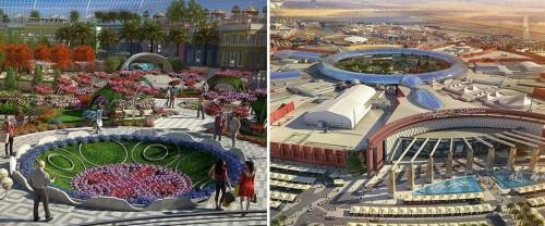 Ilustrasi Tempat Dibangunnya City Land Mall di Dubai (Foto: Istimewa)