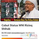 Petisi Cabut WNI Rizieq Shihab Terus Bergulir, DPP FPI: Pembuat Petisi Komunis