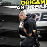 Alat Keamanan Canggih Milik Polisi dan Militer Dunia, Salah Satunya Ada Origami Anti Peluru