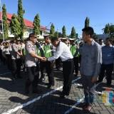 Kapolres Ucapkan Terima Kasih ke Petugas Pengamanan Mudik dan Arus Mudik Balik Lebaran Lancar