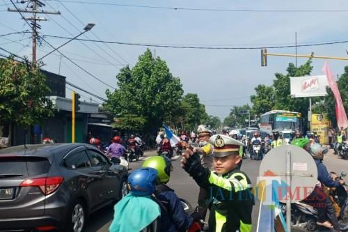 Kasat Lantas Polres Kediri AKP Hendri Ibnu Indarto. Foto: (B. Setioko/JatimTIMES)