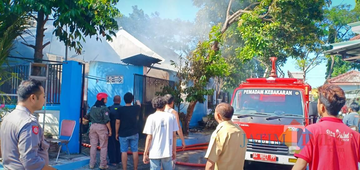 Kebakaran di BTN Asabri sebabkan seorang kakek tewas terpanggang
