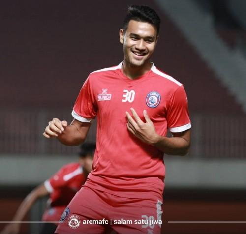Pemain muda Arema FC, Muhammad Rafli (official Arema FC)