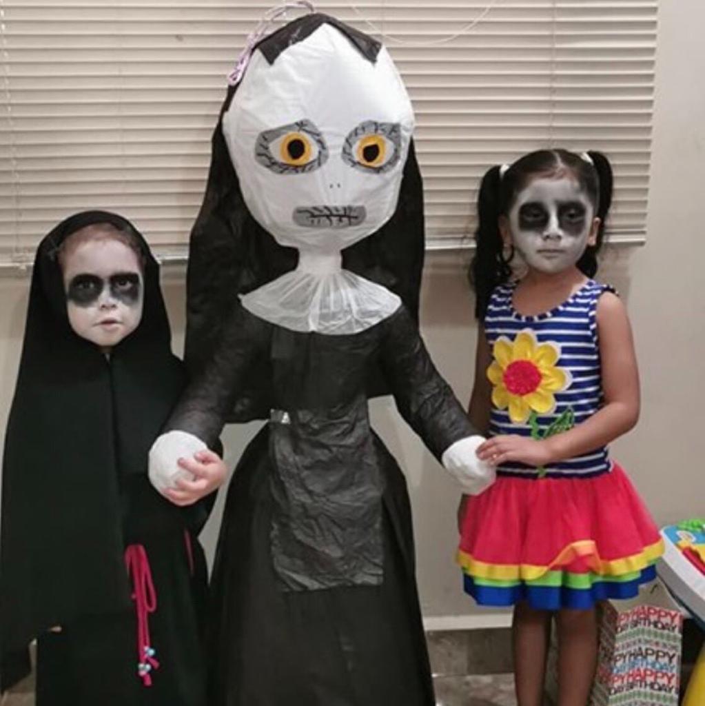 Unik Tapi Horor Anak Ini Rayakan Pesta Ulang Tahun Bertema
