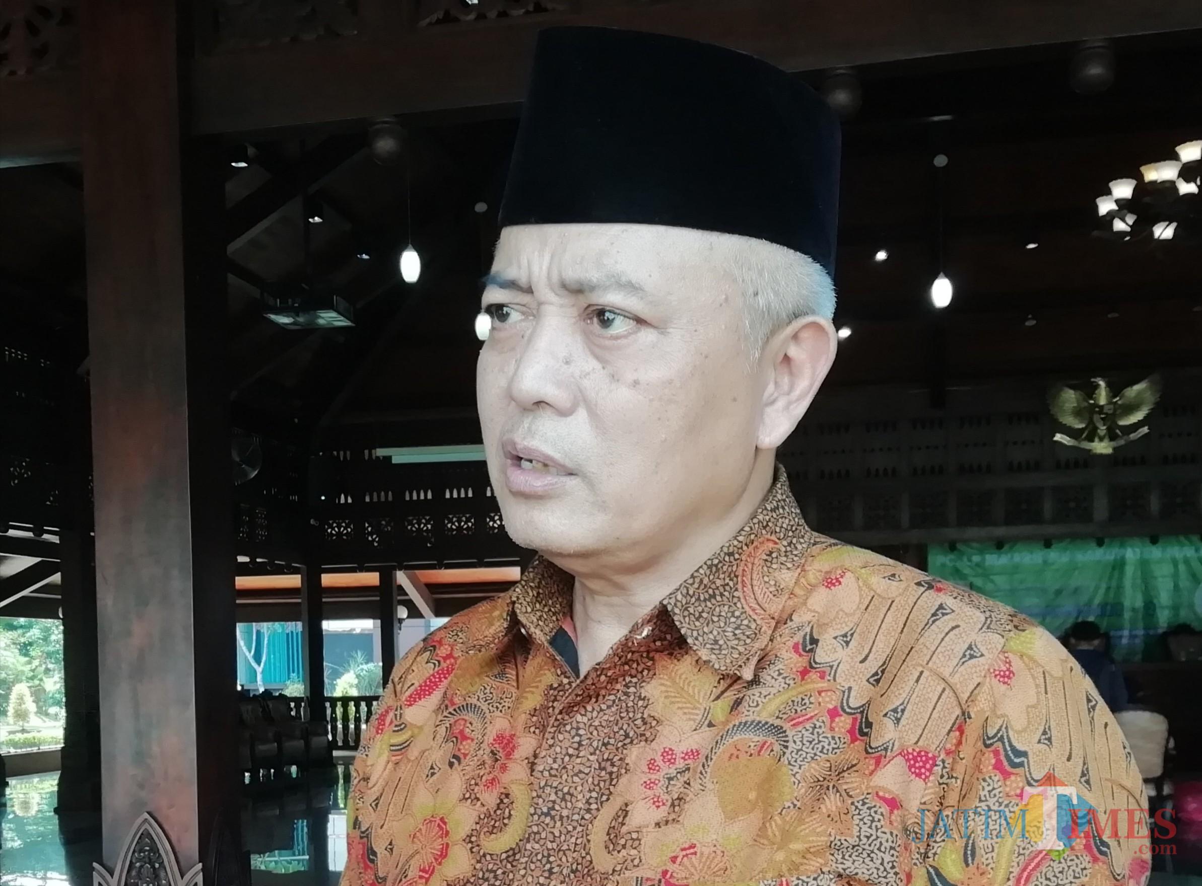 Wabup Malang Sanusi tanggapi petisi ratusan karyawan RSUD Kanjuruhan Kepanjen. (Nana)