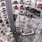 Ilustrasi parkir vertikal (Foto: Istimewa)