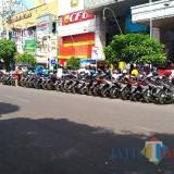 Ilustrasi tempat parkir di sekitara kawasan Malang Plaza Kota Malang (Arifina Cahyanti Firdausi/MalangTIMES)