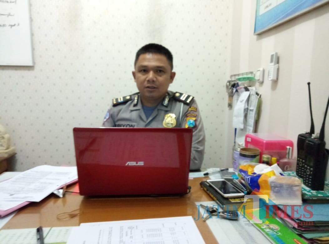 Kanit lantas Polres Tulungagung,  Iptu Dion Fitri yanto (ist)