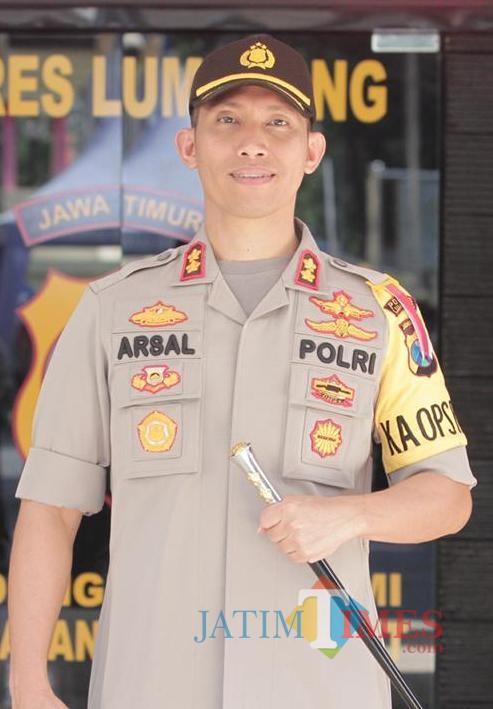 Kapolres Lumajang AKBP DR. Muhammad Arsal Sahban S.IK (Foto : Moch. R. Abdul Fatah / Jatim TIMES)