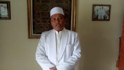 Ketua Majelis Ulama Indonesia (MUI) Kecamatan Jabung, Kabupaten Malang, Ustaz Drs H Muhammad Ikhsan. (Foto: screenshot video)