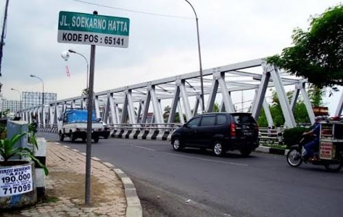 Jalan Soekarno Hatta (Istimewa)