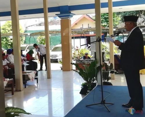 Wabup Malang Sanusi mengimbau masyarakat Kabupaten Malang tidak ikut-ikutan menyikapi sidang sengketa Pilpres di MK (Nana)