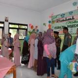 Suasana Halal bi Halal di SMP Negeri 1 Silo Jember (foto : Izza / Jatim TIMES)