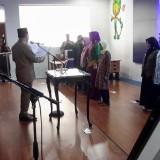 Suasana pelantikan Ketua TP PKK Kota Malang Widayati sebagai Kabid Pemberdayaan Pemuda Dispora oleh Wali Kota Malang Sutiaji. (Foto: Istimewa)