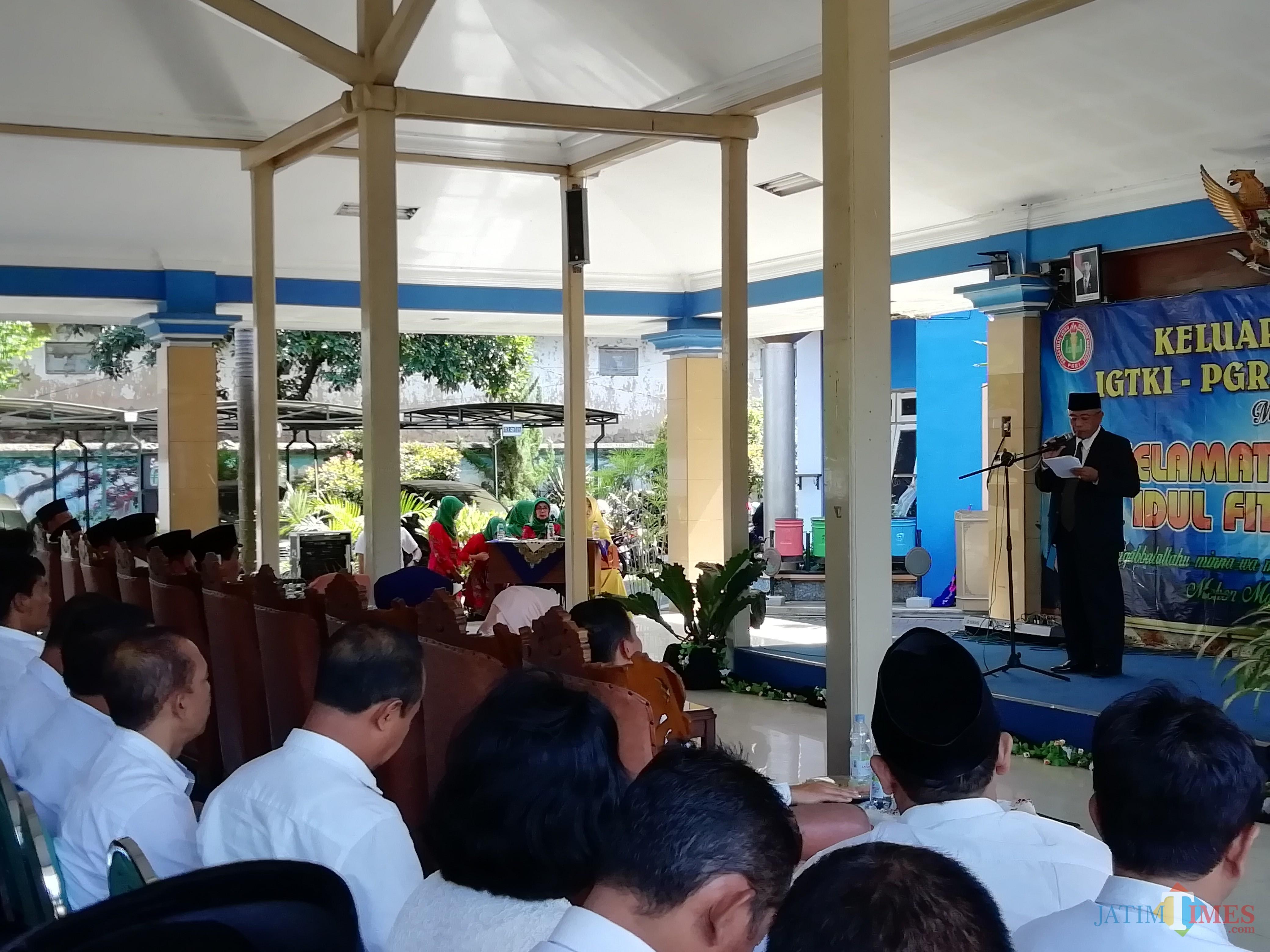 Wabup Malang Sanusi meminta seluruh pemangku kepentingan menggenjot kualitas pendidikan di wilayah Kepanjen. (Nana)