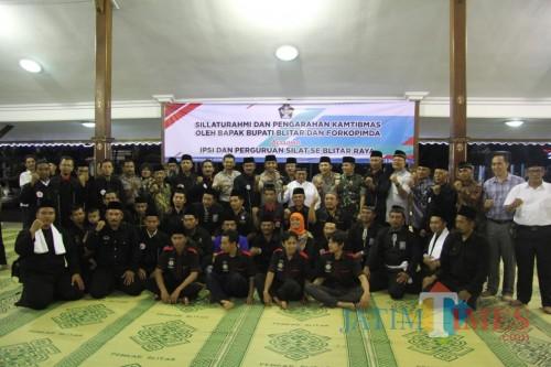 Bupati, Dandim, Forkopimda bersama pengurus dan anggota IPSI