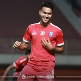 Gelandang muda Arema FC Muhammad Rafli (official Arema FC)