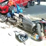 Kecelakaan Di Campurdarat / Foto : Istimewa /Tulungagung TIMES