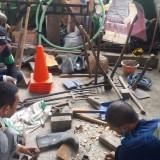 Peralatan Usang , Satgas DPUPR Rutin Rawat Peralatan Tempurnya