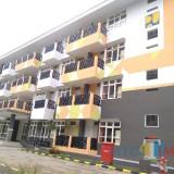 Penampakan gedung rusunawa baru Universitas Brawijaya di dekat FISIP. (Foto: Imarotul Izzah/MalangTIMES)