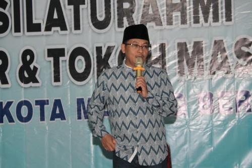 Wali Kota Malang Sutiaji saat hadir dalam silaturahim tiga pilar di Kecamatan Blimbing (Humas Pemkot Malang for MangTIMES)