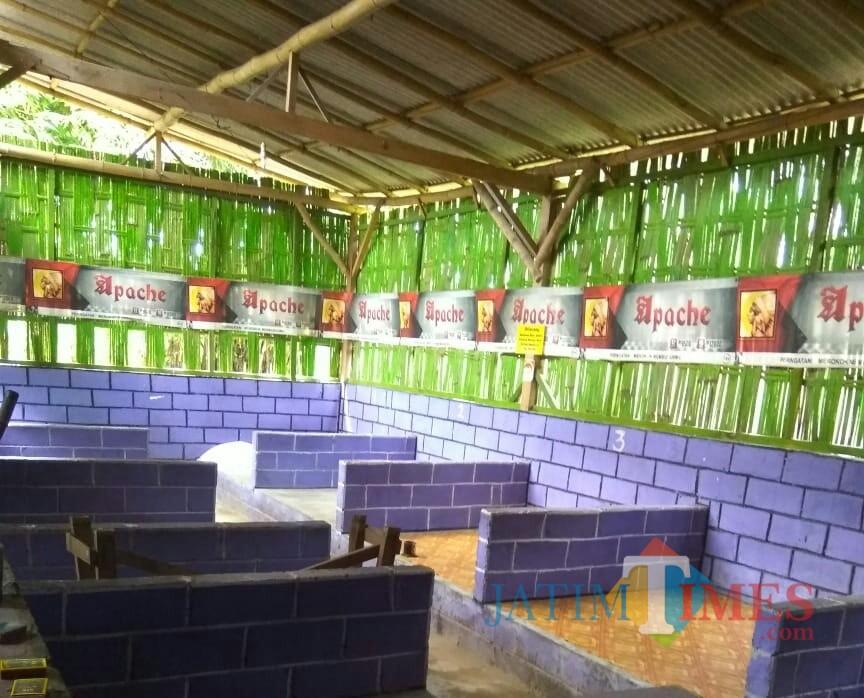 Suasana Warkop Sor Pring Yang Nyaman Untuk Menikmati Kopi Saat Masih Baru Di Buka / Foto : Ita / Tulungagung TIMES