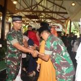 Halal bihalal Yonif 511/DY di Kampung Coklat