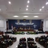 Suasana sidang paripurna di Kantor DPRD Kota Malang. (Arifina Cahyanti Firdausi/MalangTIMES)