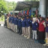 Apel gabungan petugas pajak BP2D Kota Malang sebelum melakukan inspeksi. (Foto: Dokumen MalangTIMES)