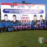 Bupati , Wabup Blitar, Kepala BNN bersama anggota BNN dan relawan anti narkoba.(Foto : Team BlitarTIMES)
