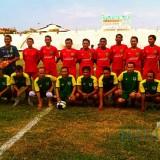 Pertandingan SIWO PWI Jatim vs Pemkot Madiun di Stadion Wilis