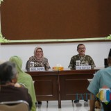 Acara halal bihalal bersama para pensiunan PNS di lingkungan Pemkab Lumajang (Foto : Doc Humas / Jatim TIMES)