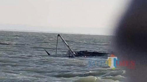KM Arim Jaya yang tenggelam di perairan Sumenep.