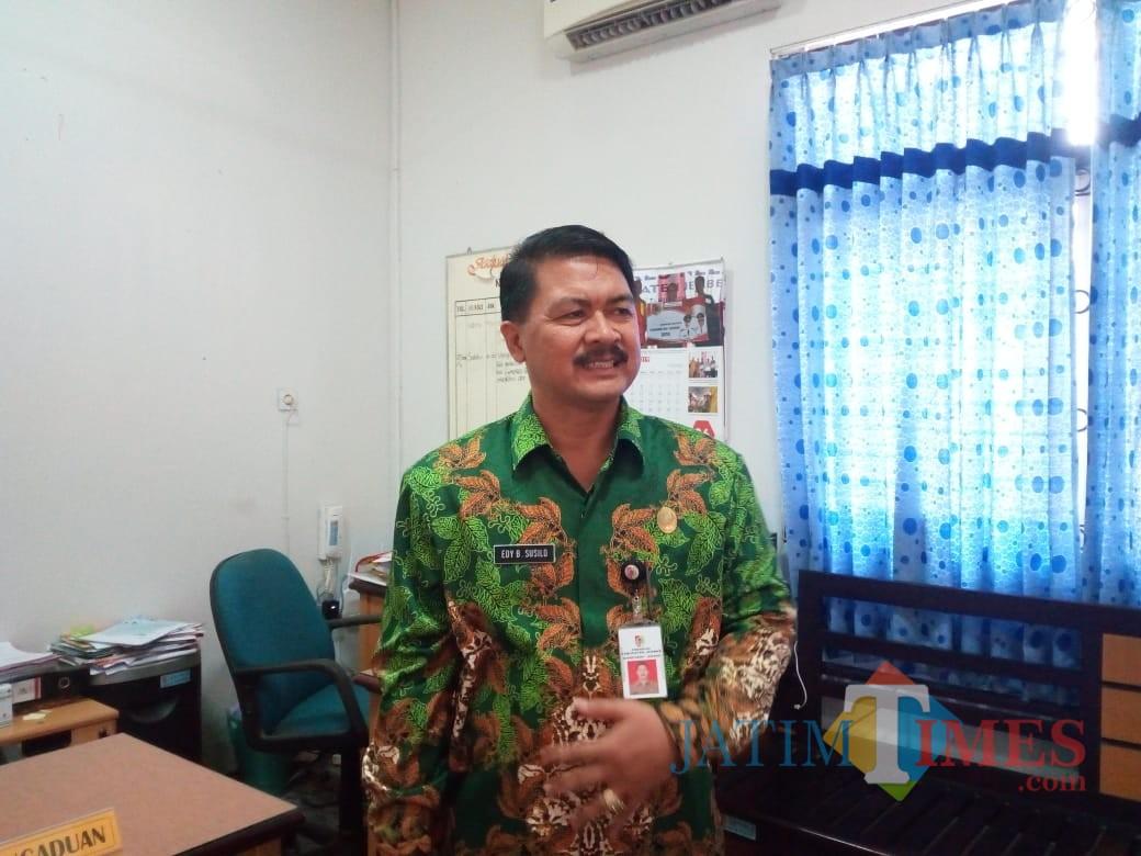 Kadispendik Jember Dr Edy B Susilo (foto : dok / Jatim TIMES)