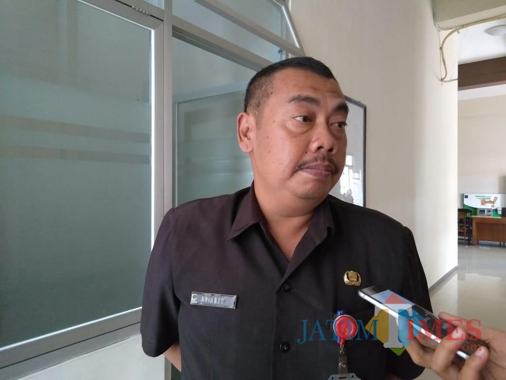 Kepala Disperindag Kota Blitar, Ariyanto.(Foto : Team BlitarTIMES)