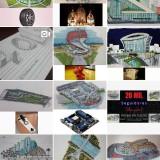 Screenshot karya Felipe, arsitek yang berangkat dari ide barang sehari-hari. (@felipedecastro.arq)