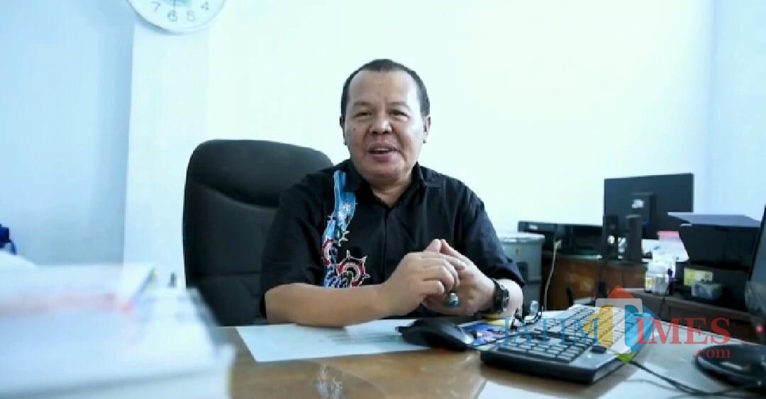 Irwan Yulianto Wakil Rektor Bidang Kemahasiswaan dan Kerjasama Universitas Abdurahman Saleh Situbondo (Foto Heru Hartanto / Situbondo TIMES)