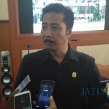 Ketua DPRD Tulungagung,  Supriyono.  (Foto:  Joko Pramono/Jatimtimes)