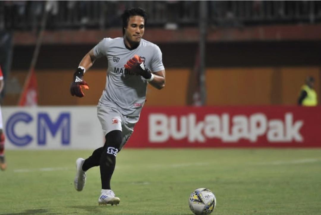 Kiper utama Madura United, M. Ridho (istimewa)