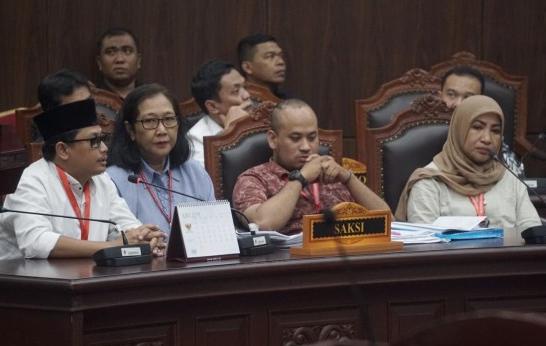 Para saksi Prabowo di persidangan MK (Ist)